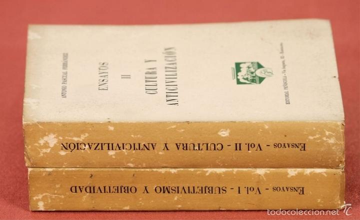 Libros de segunda mano: 7862 - EDITORIAL PEÑISCOLA. 2 TOMOS(VER DESCRIP). ANTONIO PASCUAL FERRANDEZ. 1961. - Foto 8 - 58408740