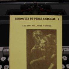 Libros de segunda mano: HISTORIA DE LA INQUISICION EN LAS ISLAS CANARIAS I, AGUSTIN MILLARES TORRES.CANARIAS 1981.FACSIMIL. Lote 58409000