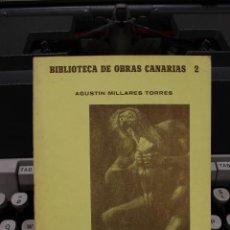 Libros de segunda mano: HISTORIA DE LA INQUISICION EN LAS ISLAS CANARIAS I, AGUSTIN MILLARES TORRES.CANARIAS 1981.FACSIMIL. Lote 58409041