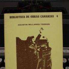 Libros de segunda mano: HISTORIA DE LA INQUISICION EN LAS ISLAS CANARIAS III, AGUSTIN MILLARES TORRES.CANARIAS 1981.FACSIMIL. Lote 58409060