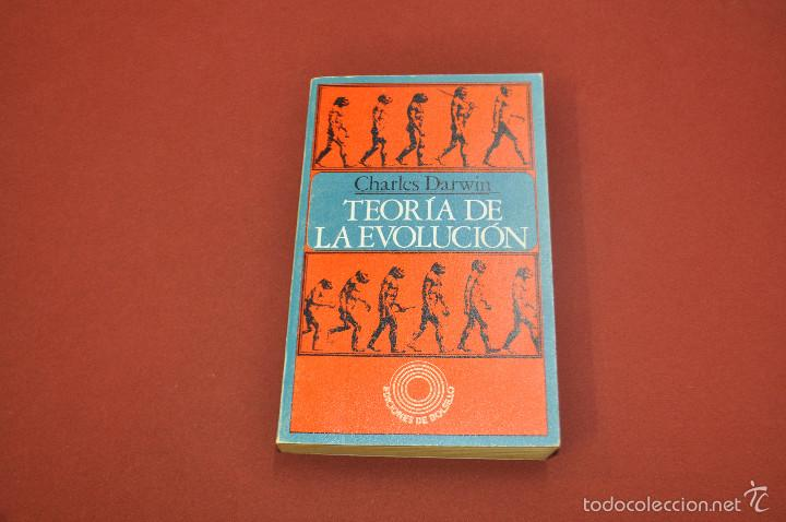 TEORÍA DE LA EVOLUCIÓN - CHARLES DARWIN - CIB (Libros de Segunda Mano - Ciencias, Manuales y Oficios - Otros)