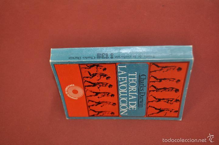 Libros de segunda mano: teoría de la evolución - charles darwin - CIB - Foto 2 - 58412257