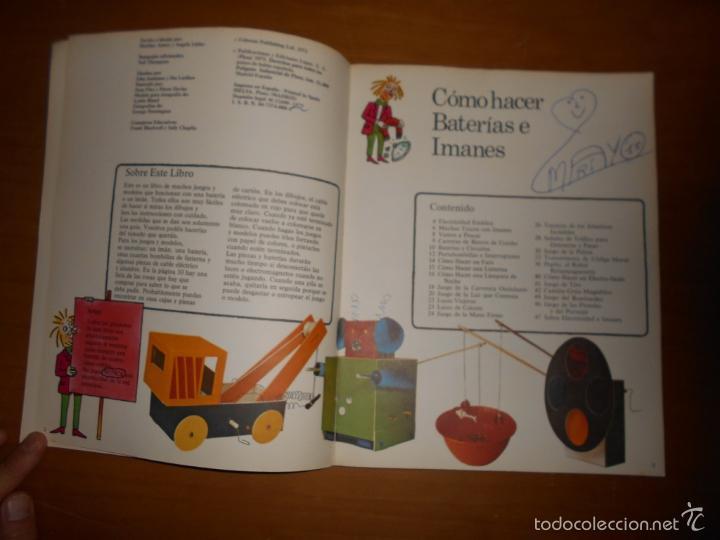 Libros de segunda mano: CÓMO HACER BATERÍAS E IMANES SEGUNDA EDICIÓN EDICIONES PLESA AÑO 1975 47 PÁGINAS - Foto 2 - 58415616