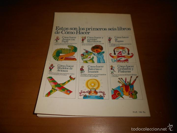 Libros de segunda mano: CÓMO HACER BATERÍAS E IMANES SEGUNDA EDICIÓN EDICIONES PLESA AÑO 1975 47 PÁGINAS - Foto 6 - 58415616