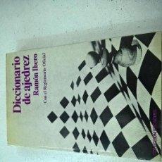 Libri di seconda mano: AJEDREZ - DICCIONARIO DE AJEDREZ - RAMON IBERO - COL. ESCAQUES 1985-N. Lote 58422584