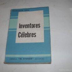 Libros de segunda mano: INVENTORES CELEBRES. Lote 58456124