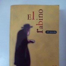 Libros de segunda mano: EL RABINO. NOAH GORDON.. Lote 58466281