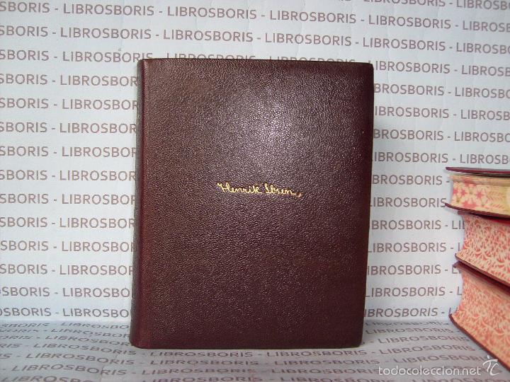 Libros de segunda mano: IBSEN - TEATRO COMPLETO . AGUILAR - OBRAS ETERNAS - Foto 2 - 58473786