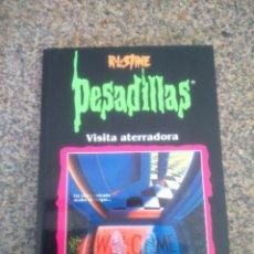 Libros de segunda mano: PESADILLAS - VISITA ATERRADORA -- R. L. STINE -- EDICIONES B - 1998 --. Lote 58515102