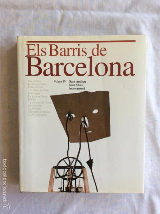 ELS BARRIS DE BARCELONA (Libros de Segunda Mano - Historia - Otros)
