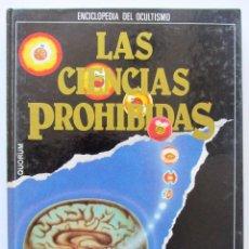 Libros de segunda mano: MAGIA:LOS PODERES SECRETOS.LAS CIENCIAS OCULTAS.QUORUM.1987. Lote 58580983