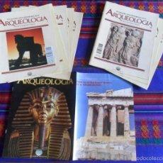 Libros de segunda mano: GRANDES DESCUBRIMIENTOS DE LA ARQUEOLOGÍA 4 Y 5. REGALO FASCÍCULO Nº 1 CATÁLOGO Y 32 PORTADAS.. Lote 13959127
