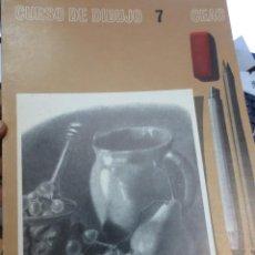 Libros de segunda mano: CURSO DE DIBUJO Nº 7 EDIT CEAC AÑO 1968. Lote 58594360