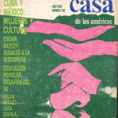 Libros de segunda mano: REVISTA CASA DE LAS AMÉRICAS Nº 183 - ABRIL JUNIO 1991 . Lote 58595704