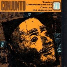 Libros de segunda mano: REVISTA CONJUNTO TEATRO CASA DE LAS AMÉRICAS Nº 70 - OCTUBRE DICIEMBRE 1986 . Lote 58595873