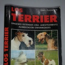 Libros de segunda mano: LOS TERRIER 1995 GINO PUGNETTI EDITORIAL DE VECCHI. Lote 58598771