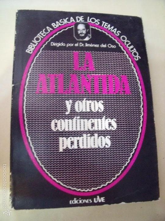 BIBLIOTECA DE LOS TEMAS OCULTOS LA ATLANTIDA (Libros de Segunda Mano - Parapsicología y Esoterismo - Otros)
