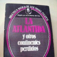 Libros de segunda mano: BIBLIOTECA DE LOS TEMAS OCULTOS LA ATLANTIDA. Lote 58620188