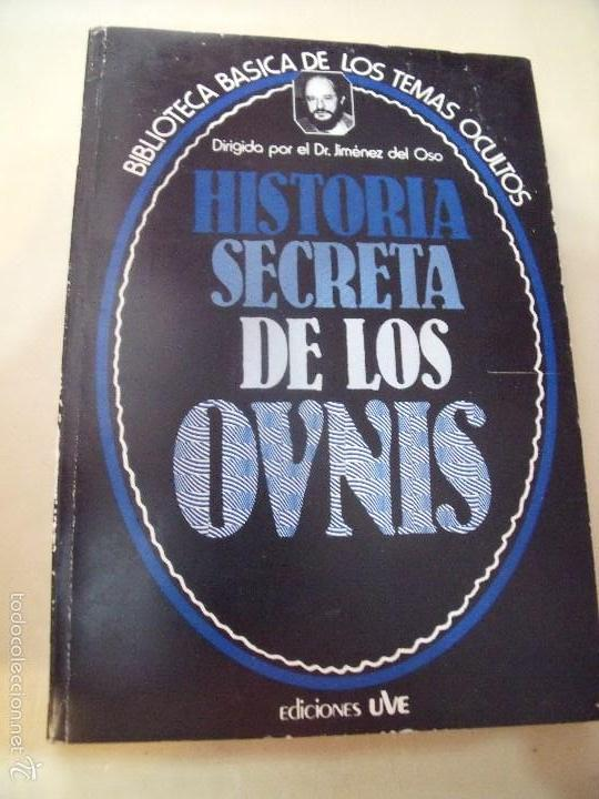BIBLIOTECA DE LOS TEMAS OCULTOS HISTORIA SECRETA DE LOS OVNIS (Libros de Segunda Mano - Parapsicología y Esoterismo - Otros)