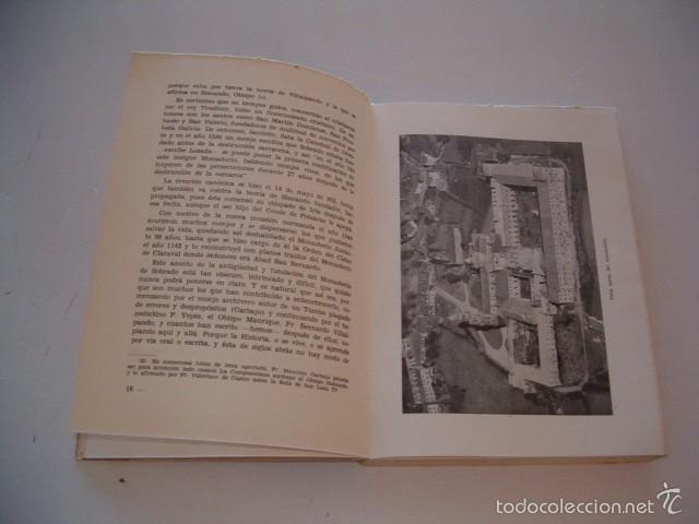 Libros de segunda mano: JUAN DE JESÚS VÁZQUEZ. Monasterio Cisterciense Santa María la Real de Sobrado. RM75980. - Foto 4 - 58687689