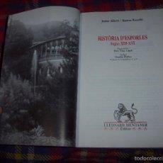 Libros de segunda mano: HISTÒRIA D' ESPORLES.SEGLES XII-XVI. JAUME ALBERTÍ / RAMON ROSSELLÓ. LLEONARD MUNTANER,ED.1996.. Lote 58767072