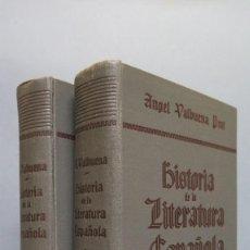 Libros de segunda mano: HISTORIA DE LA LITERATURA ESPAÑOLA. ANGEL VALBUENA PRAT. ED. GUSTAVO GILI. 2 TOMOS. Lote 59071305