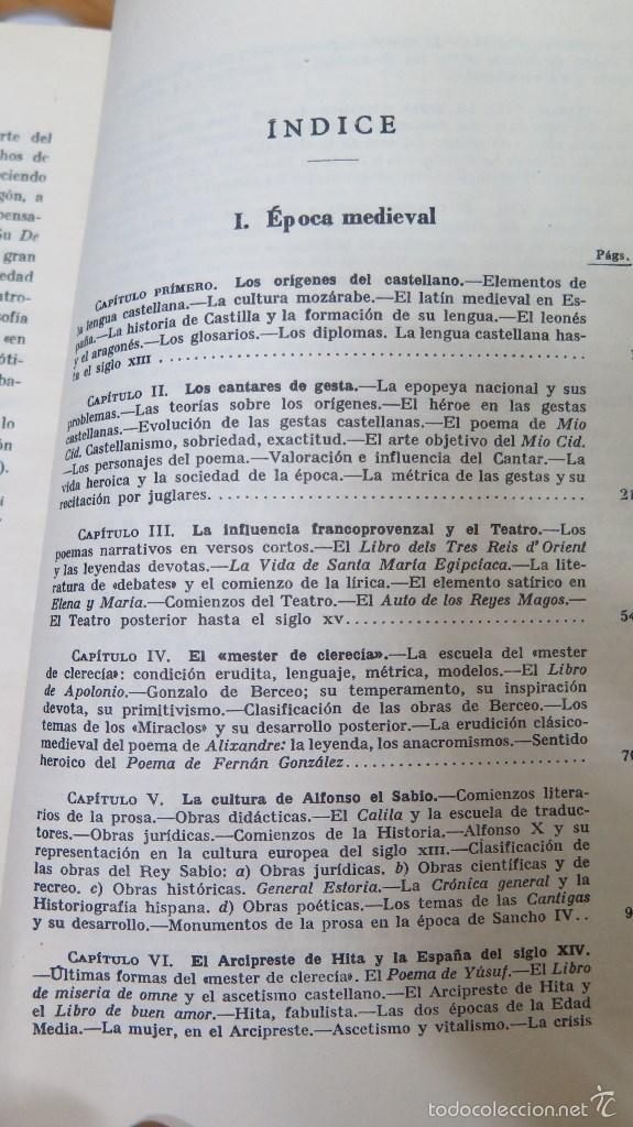 Libros de segunda mano: HISTORIA DE LA LITERATURA ESPAÑOLA. ANGEL VALBUENA PRAT. ED. GUSTAVO GILI. 2 TOMOS - Foto 2 - 59071305