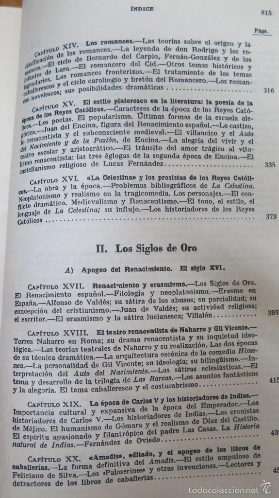 Libros de segunda mano: HISTORIA DE LA LITERATURA ESPAÑOLA. ANGEL VALBUENA PRAT. ED. GUSTAVO GILI. 2 TOMOS - Foto 4 - 59071305