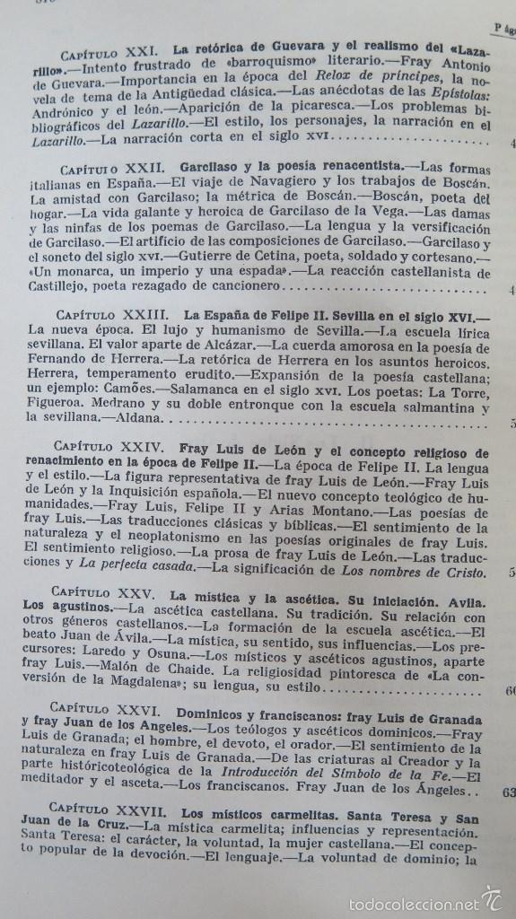 Libros de segunda mano: HISTORIA DE LA LITERATURA ESPAÑOLA. ANGEL VALBUENA PRAT. ED. GUSTAVO GILI. 2 TOMOS - Foto 5 - 59071305