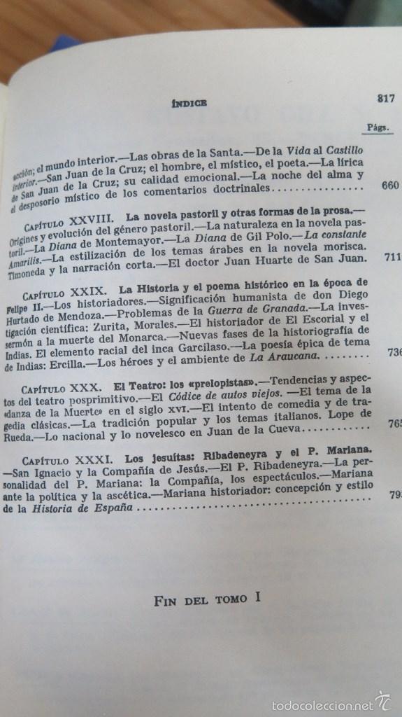 Libros de segunda mano: HISTORIA DE LA LITERATURA ESPAÑOLA. ANGEL VALBUENA PRAT. ED. GUSTAVO GILI. 2 TOMOS - Foto 6 - 59071305