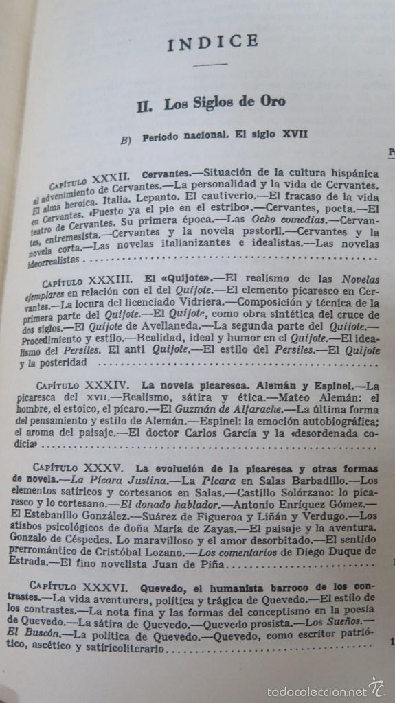 Libros de segunda mano: HISTORIA DE LA LITERATURA ESPAÑOLA. ANGEL VALBUENA PRAT. ED. GUSTAVO GILI. 2 TOMOS - Foto 7 - 59071305