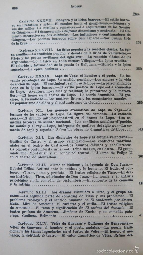 Libros de segunda mano: HISTORIA DE LA LITERATURA ESPAÑOLA. ANGEL VALBUENA PRAT. ED. GUSTAVO GILI. 2 TOMOS - Foto 8 - 59071305