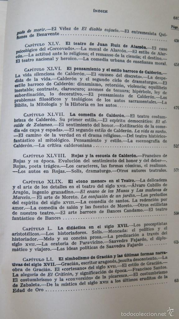 Libros de segunda mano: HISTORIA DE LA LITERATURA ESPAÑOLA. ANGEL VALBUENA PRAT. ED. GUSTAVO GILI. 2 TOMOS - Foto 9 - 59071305