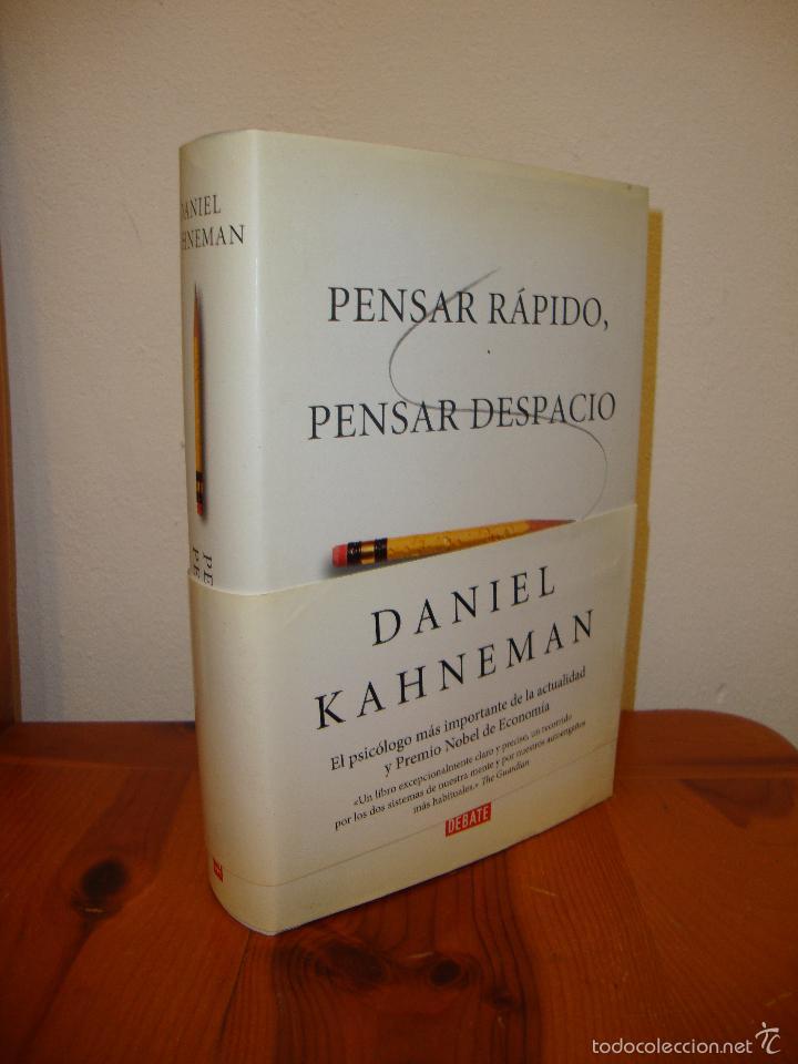 Pensar Rápido Pensar Despacio Daniel Kahnema Vendido En Venta Directa 59187135