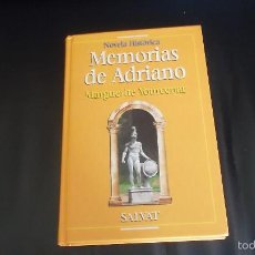 Libros de segunda mano: M. YOURCENAR. MEMORIAS DE ADRIANO. Lote 59397575