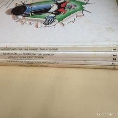 Libros de segunda mano: MAZINGER Z. EDITORIAL GRIJALBO. TOMOS 1-4-6.. Lote 59149498