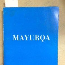 Libros de segunda mano: MAYURQA UIB, N.III-IV, 1969. Lote 59440555