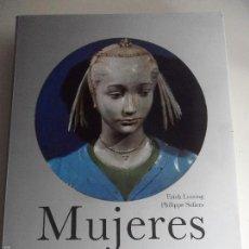 Libros de segunda mano: MUJERES. MITOLOGIAS. ERICH LESSING Y PHILIPPE SOLLERS. MOLEIRO EDITOR, 1994. GRAN FORMATO. TAPA DURA. Lote 59448000