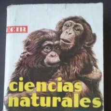 Libros de segunda mano: CIENCIAS NATURALES. 1 BACHILLERATO. ED. ECIR 1968. Lote 59450095