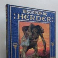 Libros de segunda mano: HISTORIAS DE HERDER - EDITORIAL ARALUCE. Lote 59469830