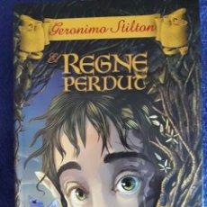 Libros de segunda mano: EL REGNE PERDUT / GERONIMO STILTON / ESTRELLA POLAR / 2010. Lote 59590103