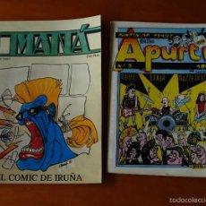 Libros de segunda mano: FANZINE. LOTE DOS NUMEROS. MANA Y APURTU. 1991. Lote 59632475