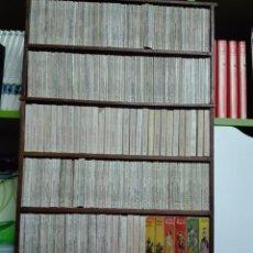 Libros de segunda mano: ESPECTACULAR MUEBLE A MEDIDA CON MAS DE 350 LIBROS DE LA ENCICLOPEDIA PULGA - VARIOS TAMAÑOS -. Lote 59658979