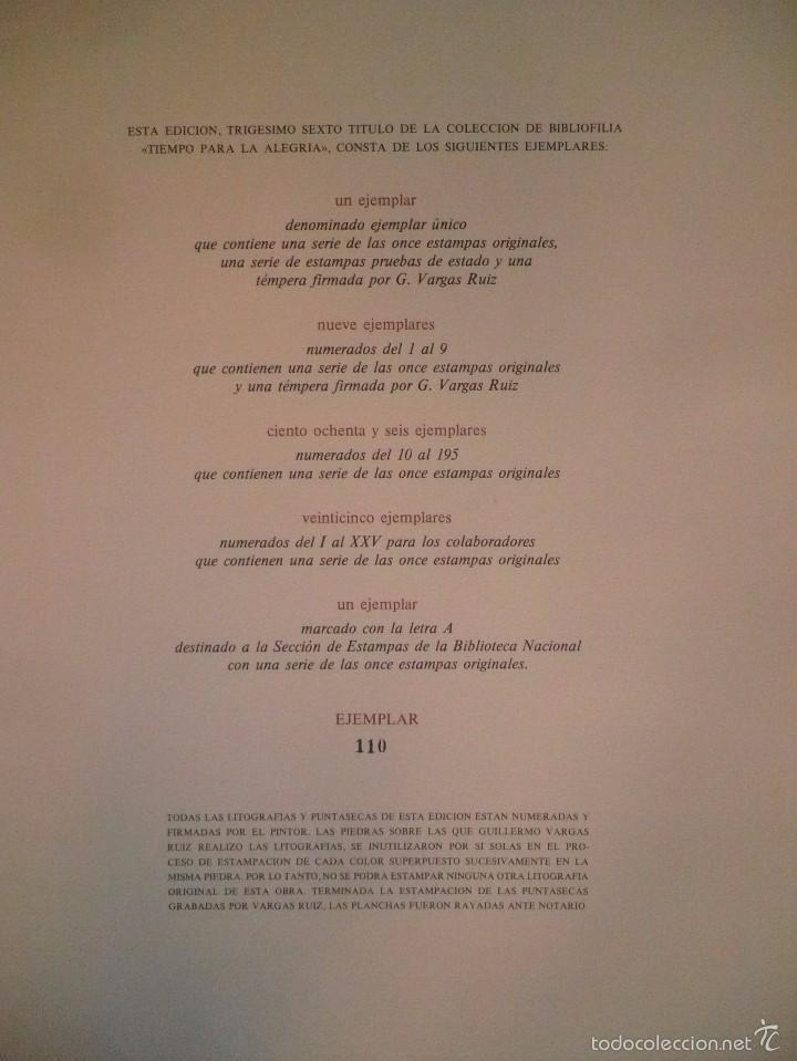 Libros de segunda mano: ESTAMPAS ILUMINADAS.- BAROJA NESSI, PÍO; VARGAS RUIZ, GUILLERMO. - Foto 4 - 59748004
