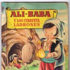 Libros de segunda mano: ALI - BABA Y LOS CUARENTA LADRONES COLECCION PARA LA INFANCIA 26 PAGINAS AÑO 1957 MD224. Lote 59829440
