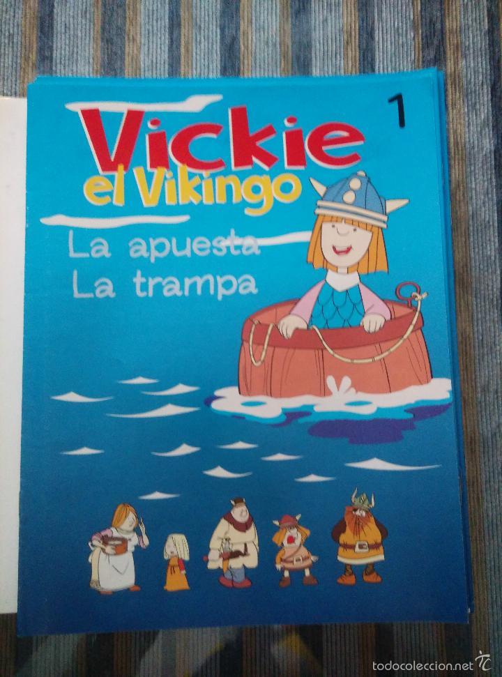 Libros de segunda mano: VICKIE EL VIKINGO (COLECCION COMPLETA) (RBA 2000) - Foto 2 - 59850236