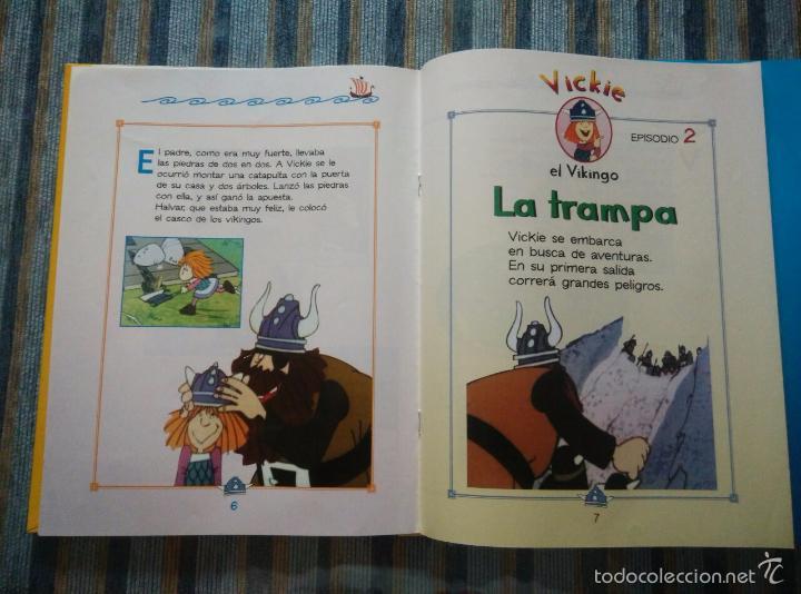 Libros de segunda mano: VICKIE EL VIKINGO (COLECCION COMPLETA) (RBA 2000) - Foto 3 - 59850236