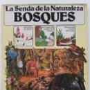 Libros de segunda mano: BOSQUES - LA SENDA DE LA NATURALEZA - EDICIONES PLESA / SM - 1985. Lote 89651903