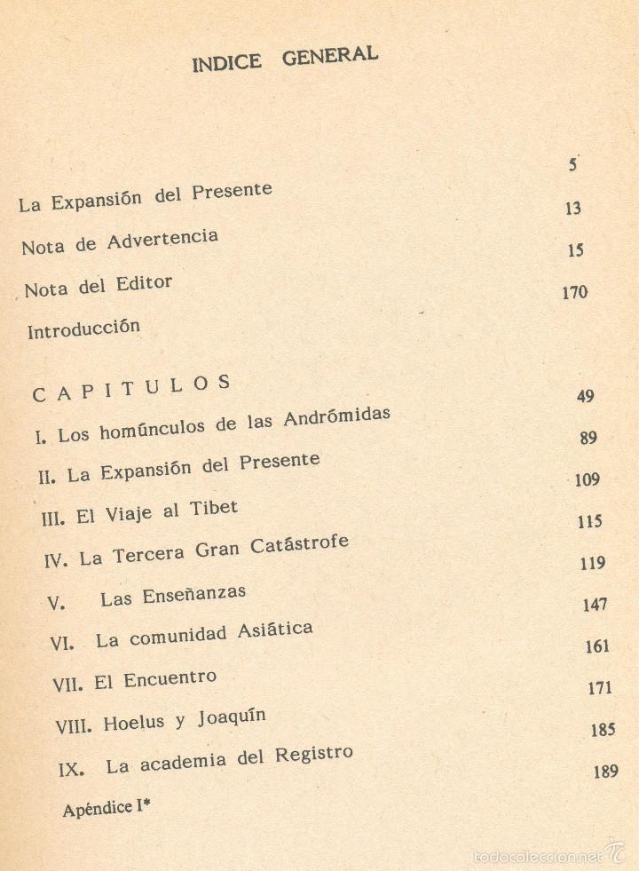 Libros de segunda mano: LA EXPANSIÓN DEL PRESENTE --Jacobo Grinberg-Zylberbaum-- Envío: 2,50 € *. - Foto 2 - 60042239
