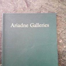 Libros de segunda mano: CATÁLOGO DE ARTE. ARIADNE GALLERIES. Lote 60170239